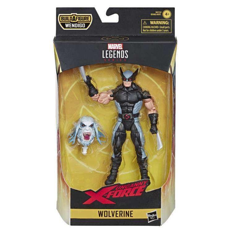 Image of X-Force Marvel Legends Wave 1 (Wendigo BAF) - Wolverine