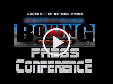Hard Hitting Promotions Press Conference