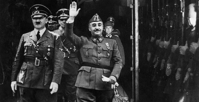 """""""La derrota de Hitler permitió a Franco enterrar los muertos y las deudas"""""""