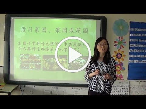 Second Graders' Group Presentation at Yanjuan Zhu's Novice-High Immersion Chinese Class