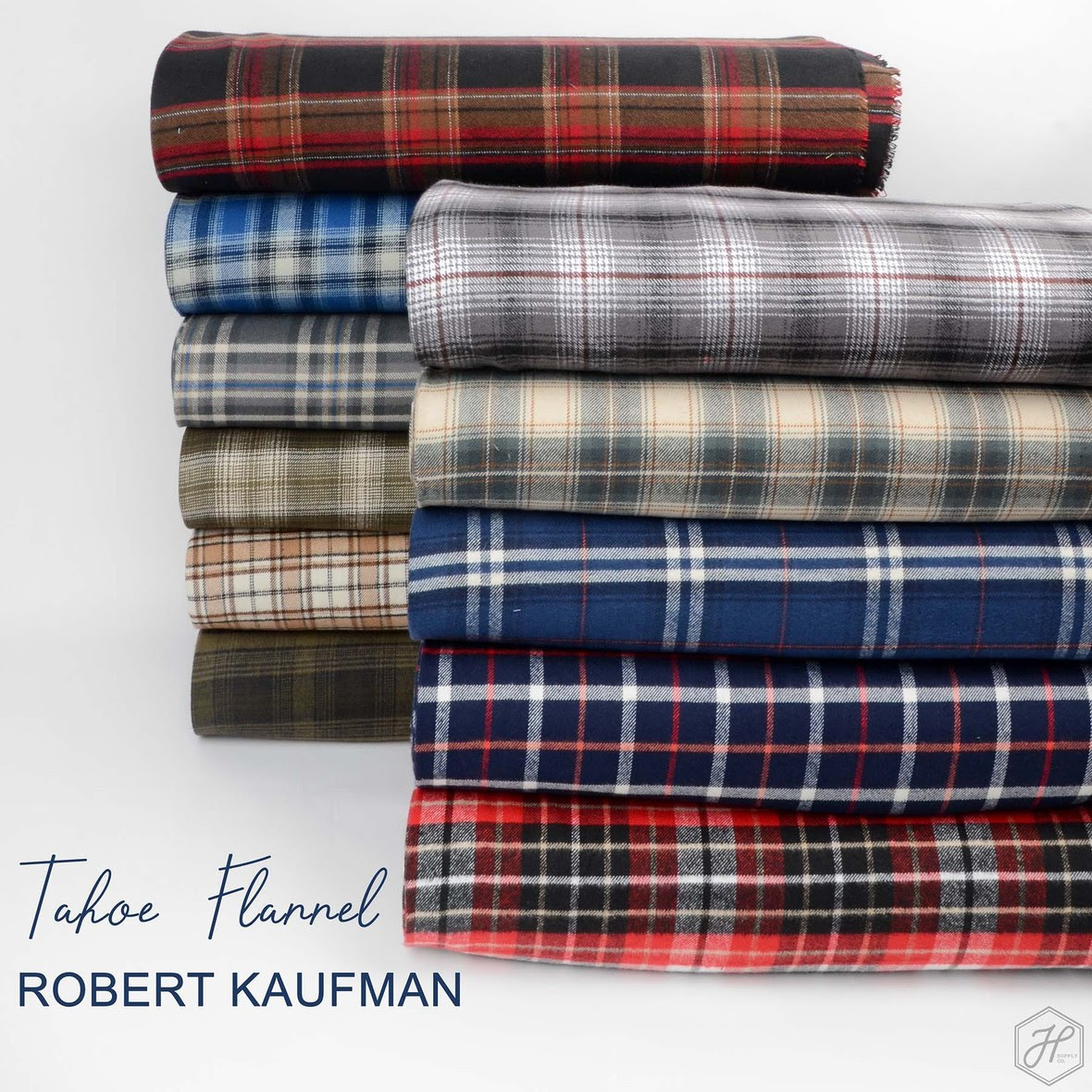 Tahoe Flannel Fabric Robert Kaufman at Hawthorne Supply Co