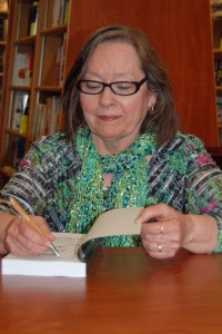 Canadian author Gloria Pearson-Vasey