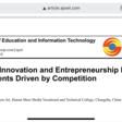 Competition stimulates Innovation and Entrepreneurship Education