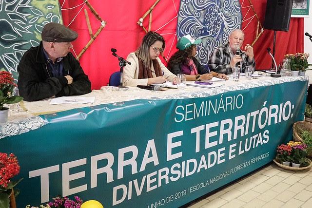 Participan del seminario entidades, académicos y movimientos populares en defensa del medio ambiente y de los trabajadores rurales - Créditos: José Bernardes/Brasil de Fato