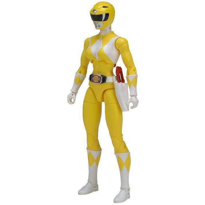 "Image of Mighty Morphin Power Rangers Legacy 6"" Yellow Ranger - FEBRUARY 2019"