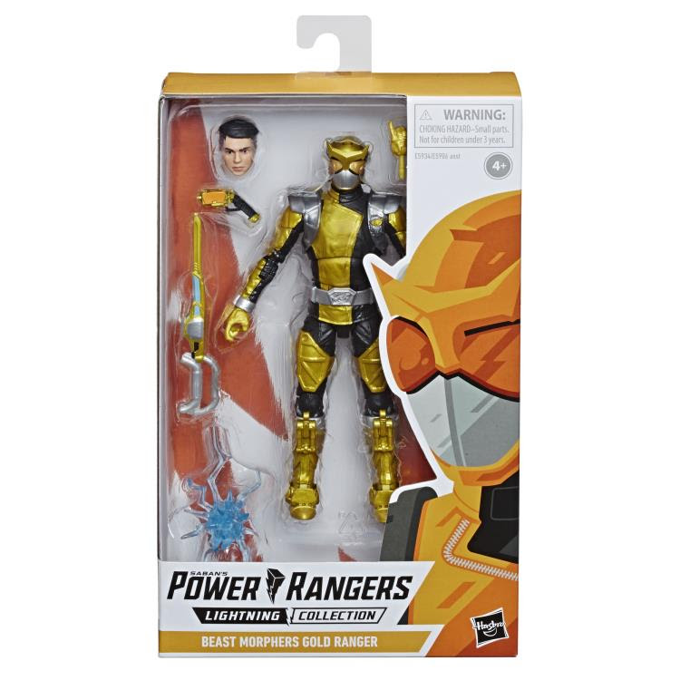 Image of Power Rangers Lightning Collection Wave 2 - Beast Morphers Gold Ranger