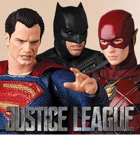 DC COMICS MAFEX FIGURES