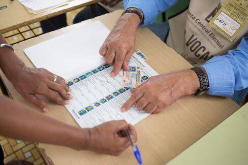 DOMINICAN REPUBLIC VOTERS