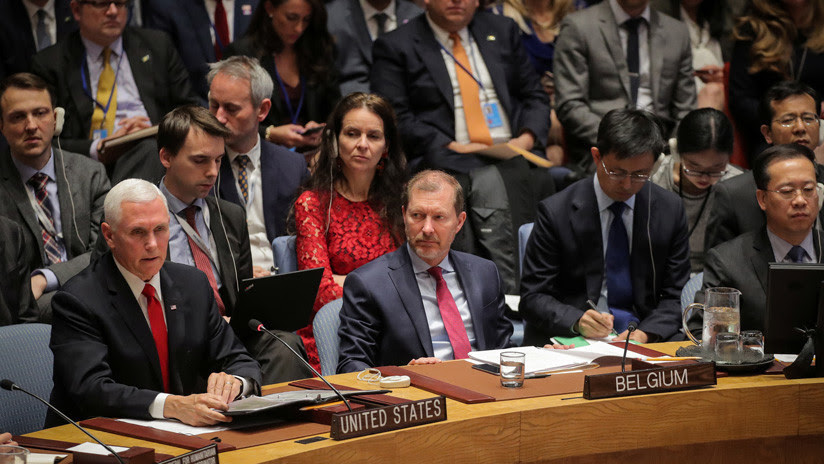 Reprimenda de Mike Pence al embajador de Venezuela en el Consejo de Seguridad: