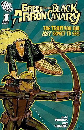 Green Arrow and Black Canary (2007-2010) #1