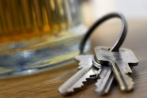 Drinking and driving keys