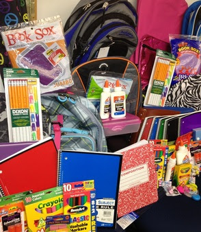 County Collecting Donations of School Supplies, photo 1