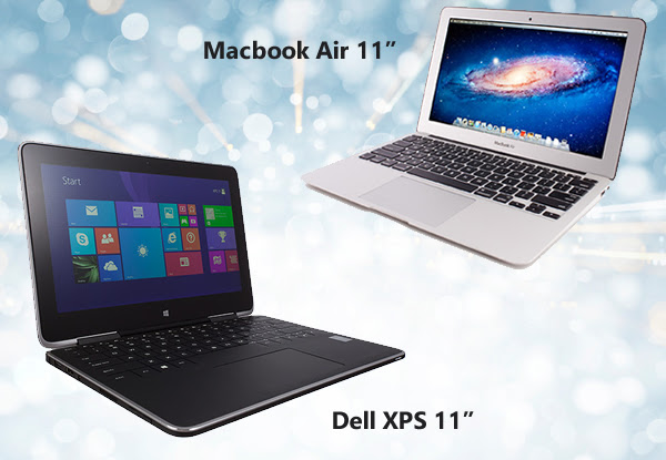 "Macbook Air 11"" atau Dell XPS 11"""
