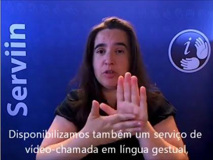 Serviço permite aos cidadãos surdos contactarem a Parques de Sintra através de uma vídeo-intérprete