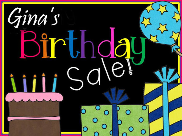 Gina's-Birthday-Sale