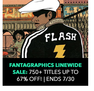 Fantagraphics Linewide Sale: 750+ titles, up to 67% off! Sale ends 7/30. \