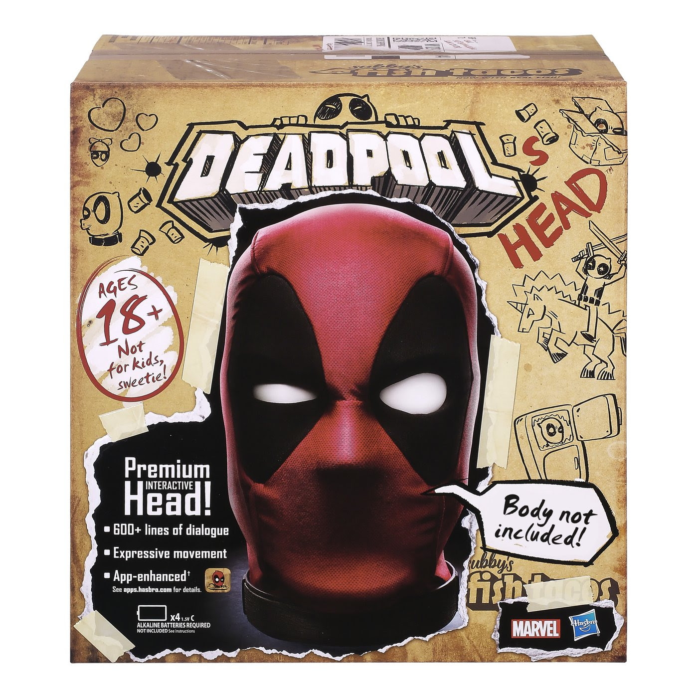 Image of Marvel Legends Interactive Electronic Deadpool's Head - AUGUST 2020