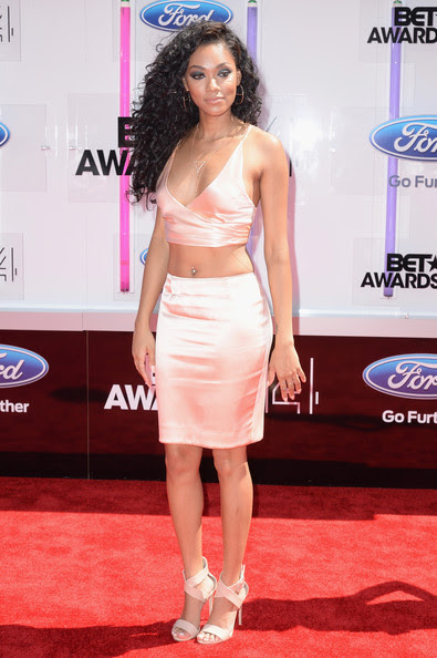 Model Bria Murphy attends the BET AWARDS '14 at Nokia Theatre L.A. LIVE on June 29, 2014 in Los Angeles, California.