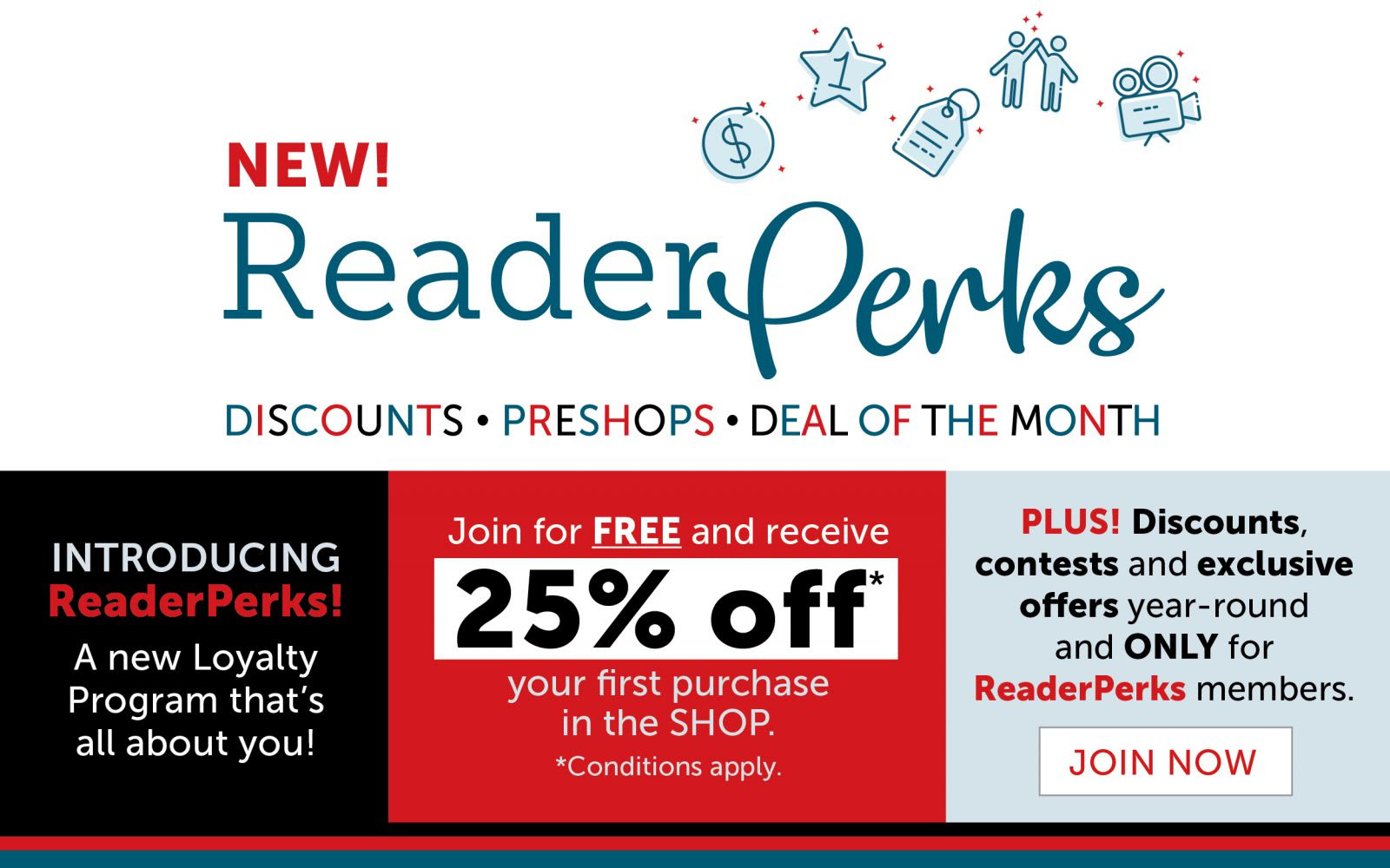 Join ReaderPerks!