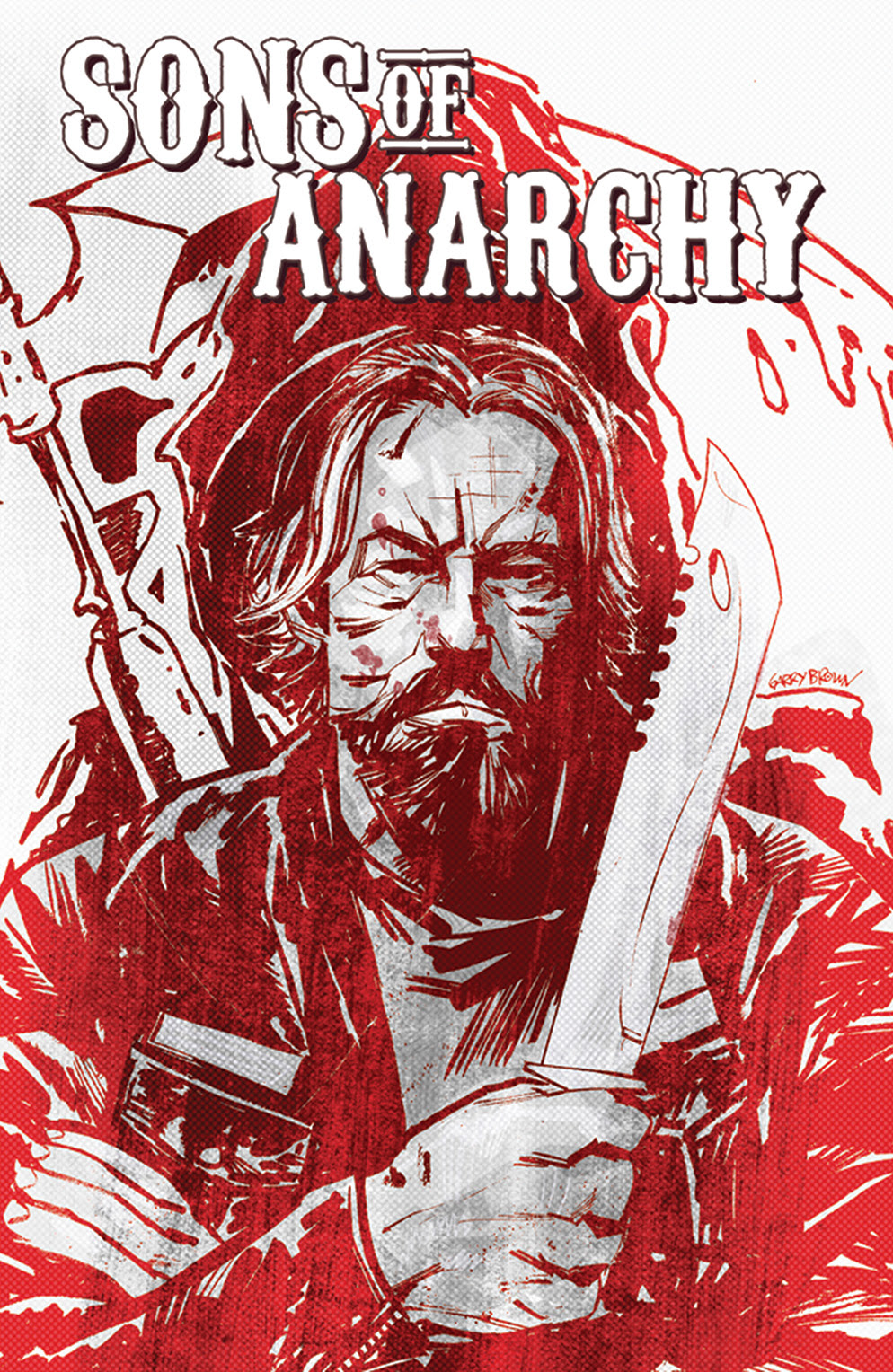 SONS OF ANARCHY #12 Cover by Garry Brown
