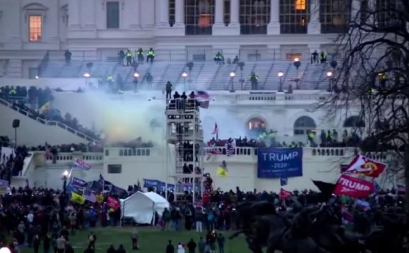 <p>Una imagen del asalto al Capitolio del 6 de enero de 2021.</p>
