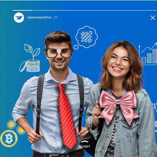 #IOPENSOPOSITIVO: un sito per l'Educazione finanziaria nella scuola