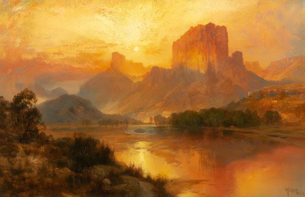 Thomas Moran, Green River, Wyoming, 1883; Estimate $1,000,000-1,500,000