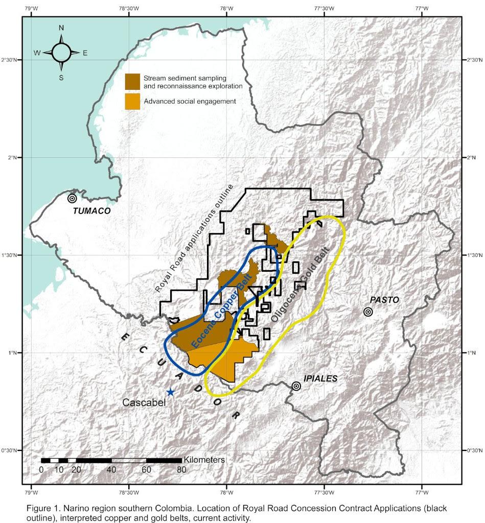 Narino regin, Colombia