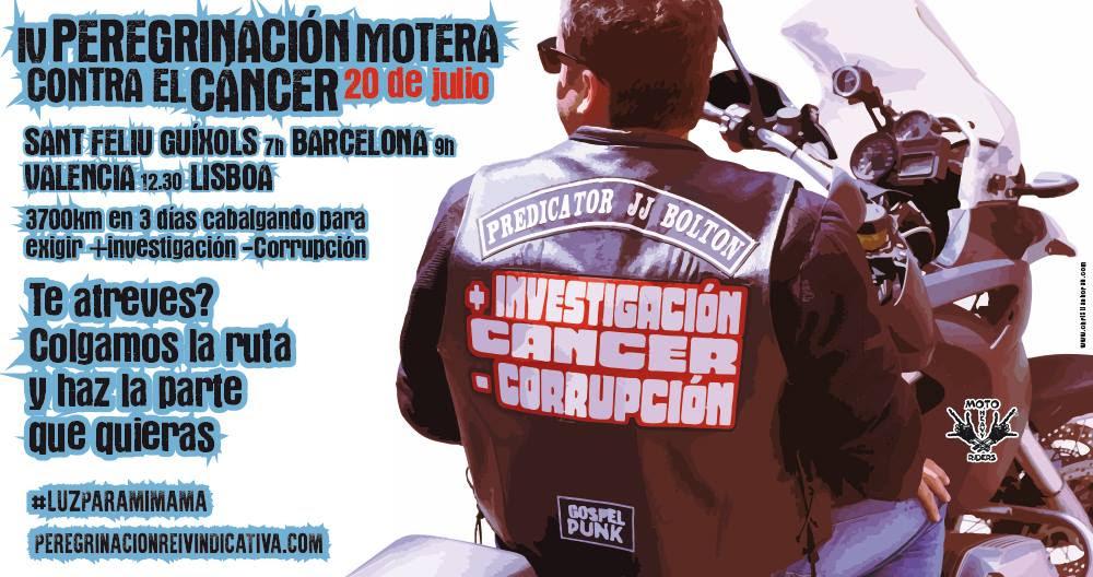 Peregrinación Motera Contra el Cancer