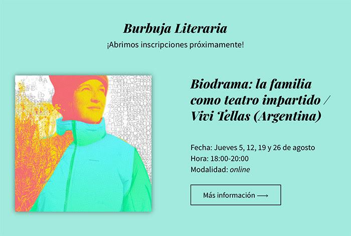 Burbuja Literaria Biodrama