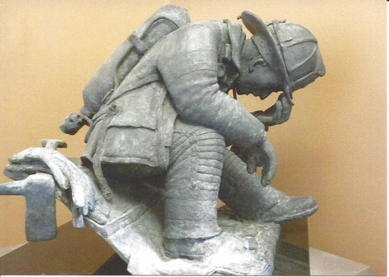 """From the Ashes, cast bronze, 15"""" x 15""""  by Stanley Yeager  at Studio 7 Fine Art Gallery"""