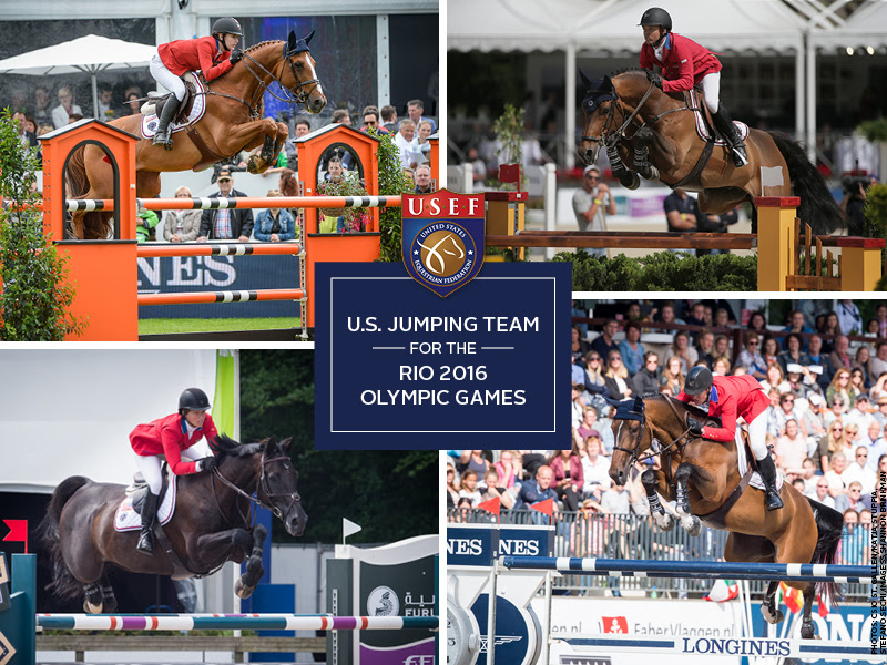 Usef Names U S Olympic Show Jumping Team For Rio 2016