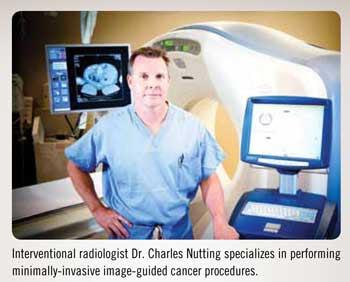 Dr. Nutting, Interventional Radiologist, NanoKnife Specialist
