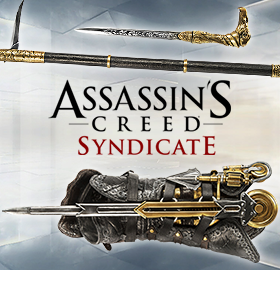 ASSASSINS CREED SYNDICATE REPLICAS