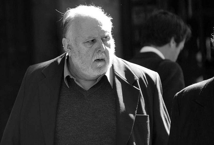 Pedro Barneix cuando concurría al juzgado de la calle Misiones, el 27 de agosto. Foto: Federico Gutiérrez