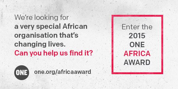 ONE Africa Award 2015