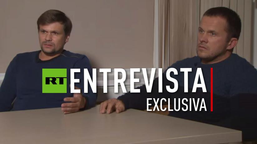 Los dos rusos señalados por Londres en el caso Skripal revelan a RT qué hicieron en Salisbury