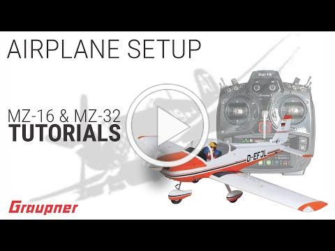 Tutorial - First Airplane Setup