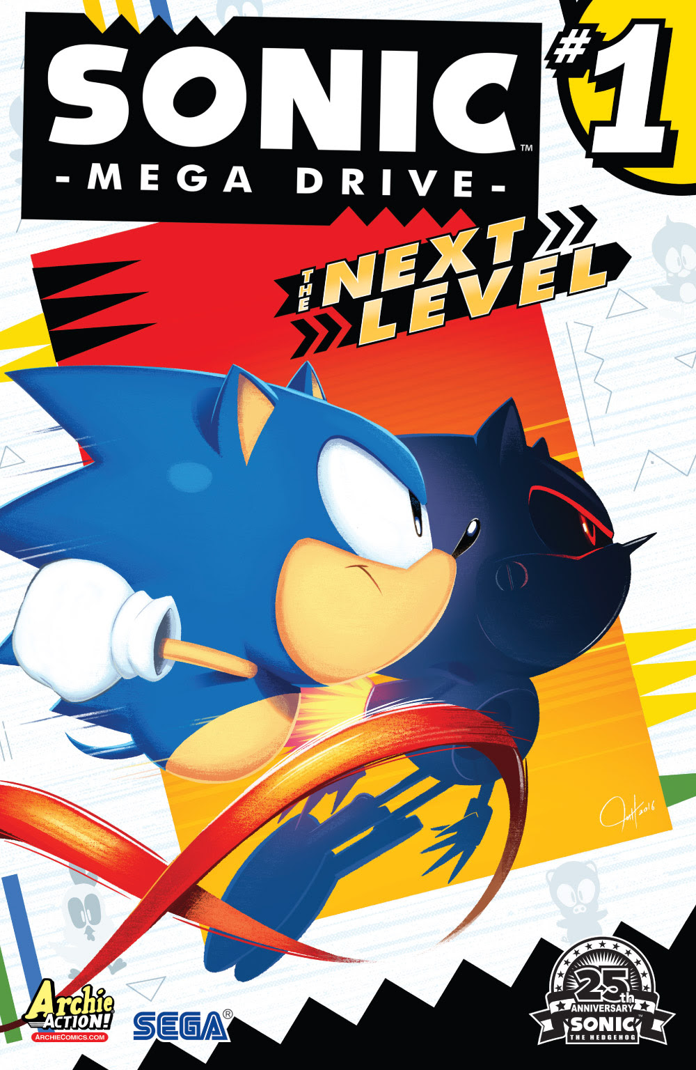 Sonic Mega Drive - The Next Level cover