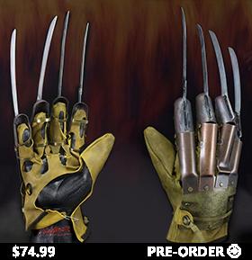 A Nightmare on Elm Street Freddy Glove Prop Replica