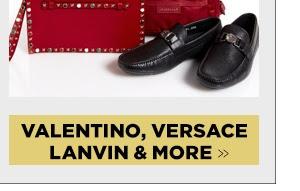 Valentino, Versace, Lanvin & More