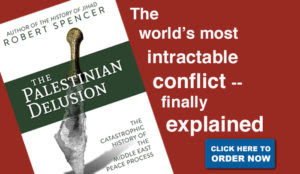 """The Palestinian Delusion"" explains why the land-for-peace ""bargain always fails to materialize"""