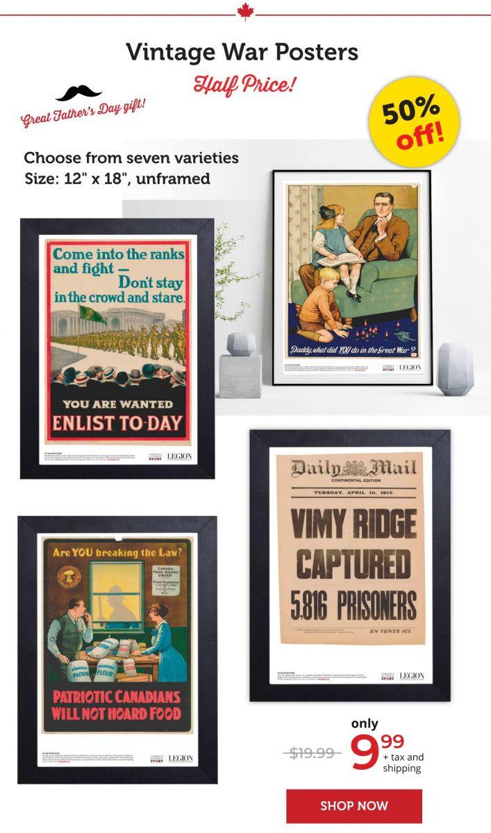 Vintage War Posters