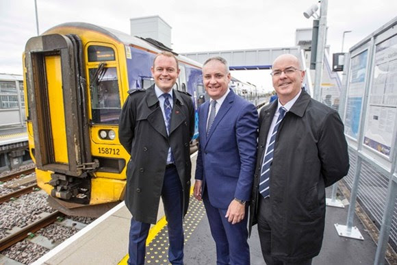 Official opening for Scotland's newest station