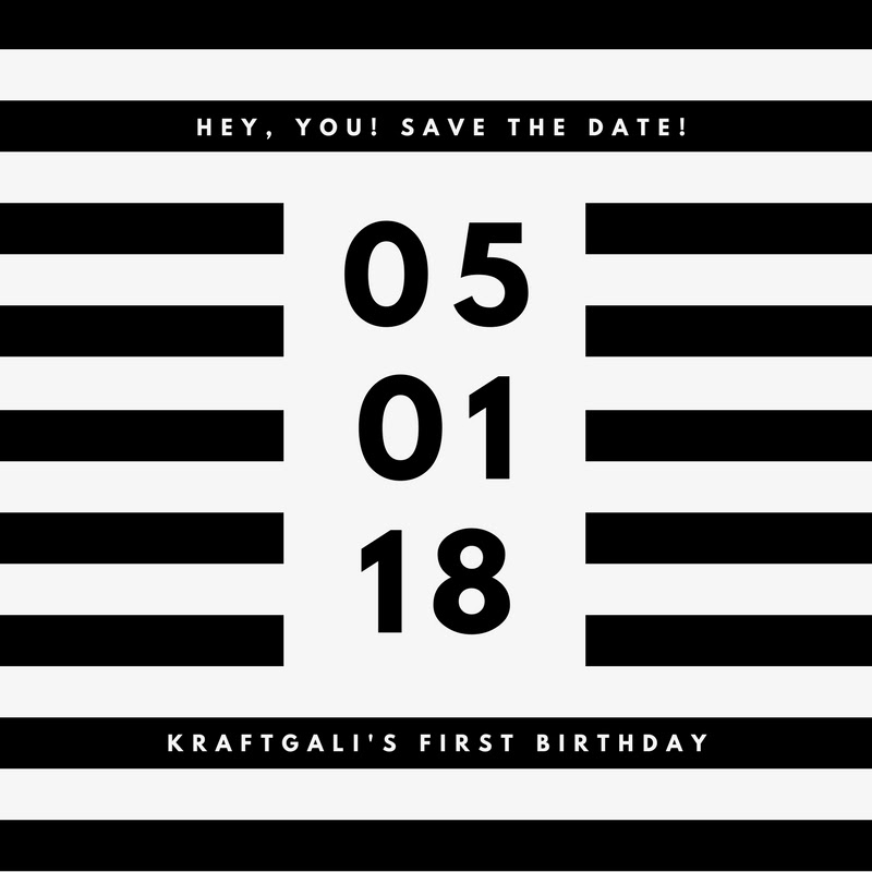 1. Save 8% on all orders using Coupon Code DISCOUNT8. Valid from April 30th, 12 am PT. Not valid on previous purchases.  2. Kraftgali 1st Birthday Specials ~ 25% off all products valid from May 1st, 12 am PT. Excludes newest release of stamps & dies, heavy weight items. Use COUPON Code BDAY25.