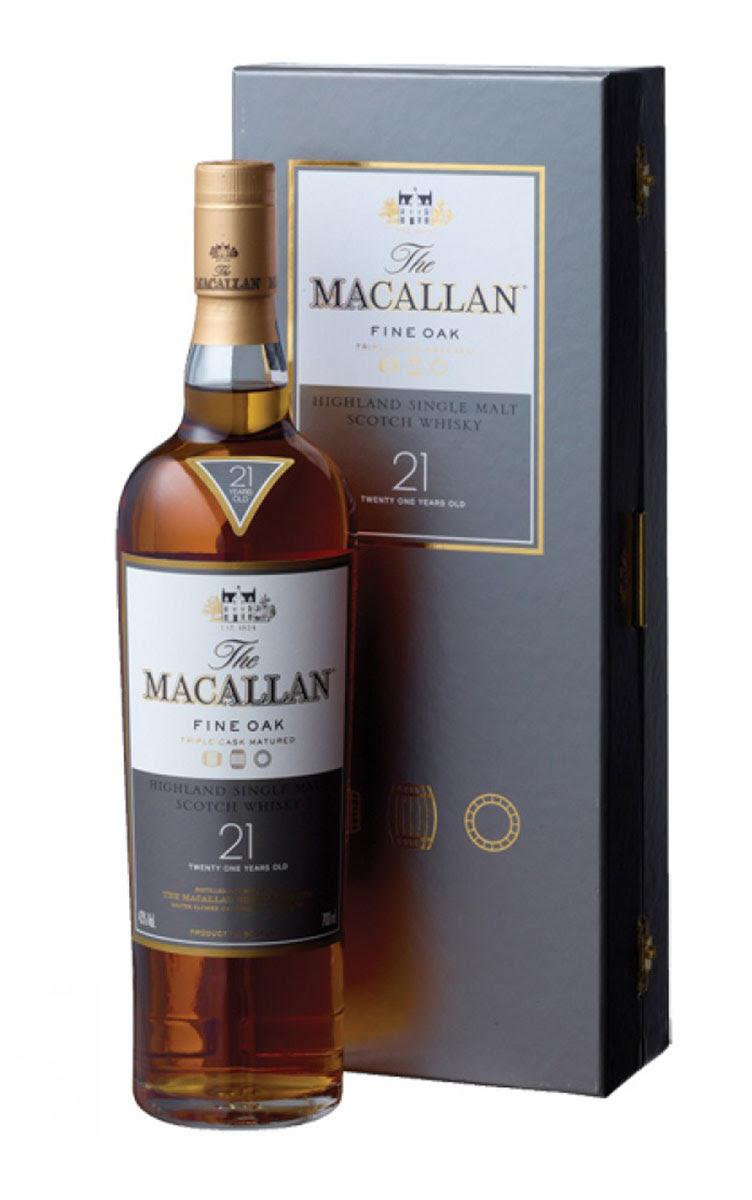 The Macallan Single Malt Whisky 21 Years