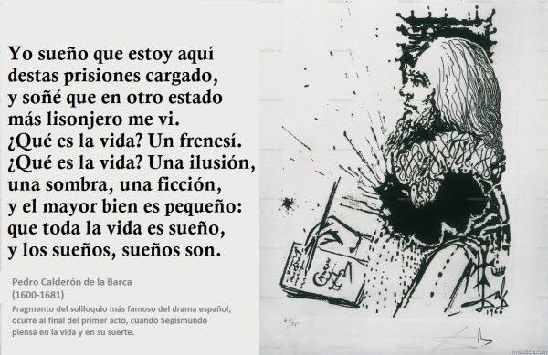 Tal día como hoy de 1600 nace PedroCalderón de la Barca