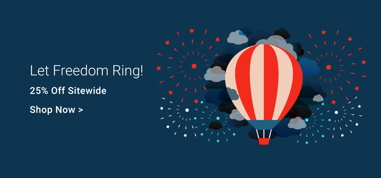 Let Freedom Ring - 25% Off Sitewide