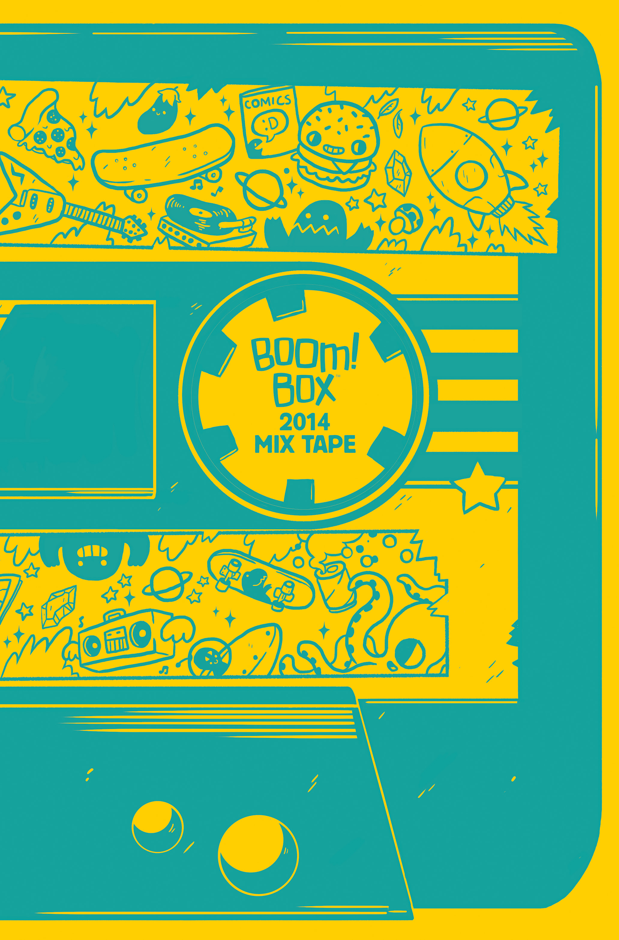 BOOM! Box 2014 Mix Tape #1 Cover A