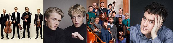 [Danish String Quartet, Juseen Brothers, Silkroad Ensemble, and Paul Lewis]